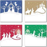 More information on Christmas Cards - Mini Silhouette