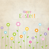 More information on Easter blooms - Easter Card